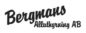 Bergmans Alluthyrning, AB logo