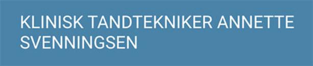 KliniskTandtekniker Annette Svenningsen logo