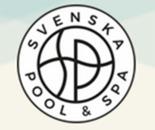 Svenska pool & spa nyköping logo