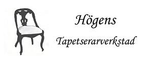 Högens Tapetserarverkstad logo