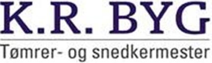 Kr Byg Tømrer Og Snedkerfirmaet ApS logo