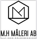 M.H Måleri AB logo