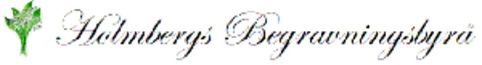 Holmbergs Begravningsbyrå logo