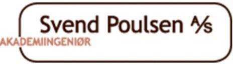 Akademiingeniør Svend Poulsen A/S logo