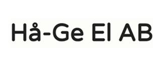 Hå-Ge El AB logo