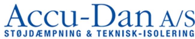 Accu-Dan Støjdæmpning A/S logo