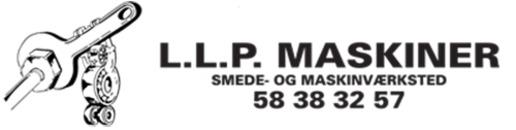 L L P Maskinudlejning logo