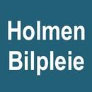 Holmen Bilpleie logo