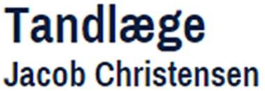 Harald Tandlæge Jacob Christensen logo