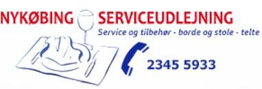 Nykøbing Serviceudlejning logo