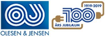 El-firmaet Olesen & Jensen A/S logo