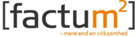 Factum2 Hillerød logo