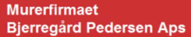 Murerfirmaet Bjerregaard Pedersen ApS logo