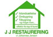 JJ Restaurering logo