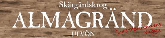 Almagränd Ulvön Skärgårdskrog logo
