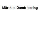 Märthas Damfrisering 50-TALS SALONGEN Anette Frank logo