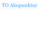 T O Akupunktur logo