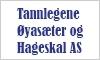 Tannlegene Øyasæter og Hageskal AS logo
