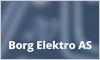 Borg Elektro AS logo