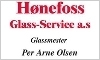 Hønefoss Glass - Service AS logo