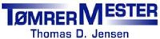Tømrermester Thomas D. Jensen logo
