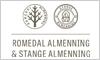 Romedal Almenning logo