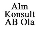 Alm Konsult AB, Ola logo