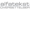 Alfatekst oversettelser AS logo