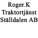Roger.K Traktortjänst I Ställdalen AB logo