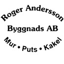 Byggnads AB Roger Andersson Mur & Puts logo