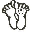 Birgits Fodpleje logo