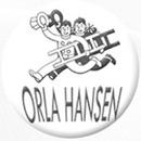 Orla Hansen logo