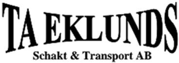 TA Eklunds Schakt & Transport AB logo