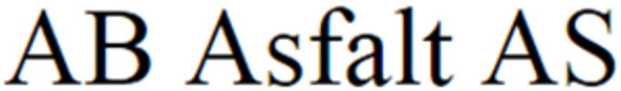 AB Asfalt AS logo