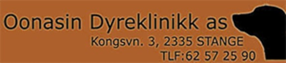 Oonasin Dyreklinikk AS logo