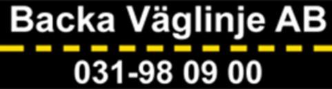 Backa Väglinje AB logo