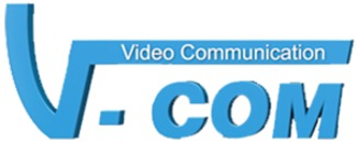 Video Communication AB V-COM logo
