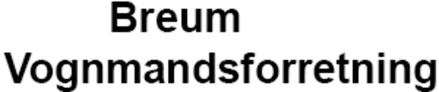 Breum Vognmandsforretning logo