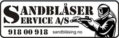 Sandblåserservice AS logo