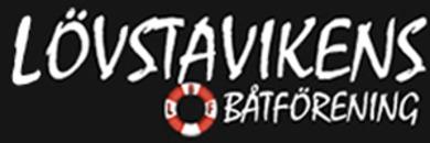 Lövstavikens Båtförening logo