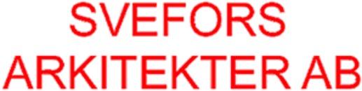 Svefors Arkitekter AB logo