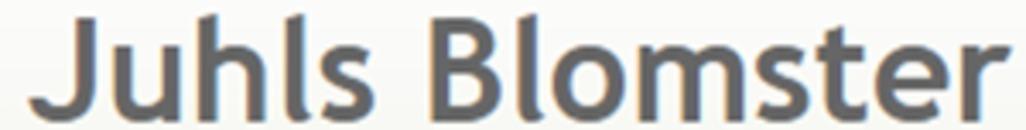 Juhl's Blomster logo