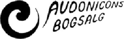 Audonicons Bogsalg logo