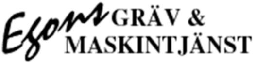 Egons Gräv & Maskintjänst logo