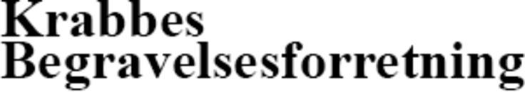 Krabbes Begravelsesforretning logo