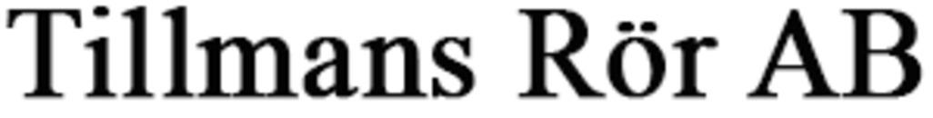 Tillmans Rör AB logo