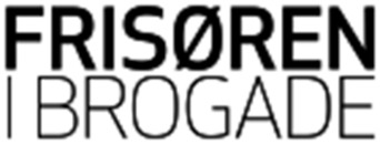 Frisøren i Brogade logo