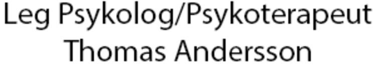 Leg Psykolog/Psykoterapeut Thomas Andersson logo