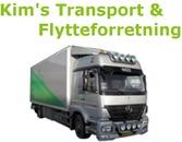 Kims Transport og Flytteforretning logo