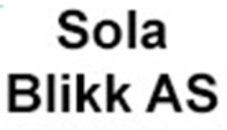 Sola Blikk AS logo
